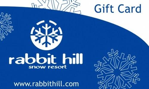 Gift Card | Rabbit Hill Snow Resort