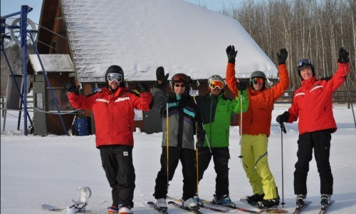 3 week Lesson, Lesson, ski, snowboard, ski hill, winter fun