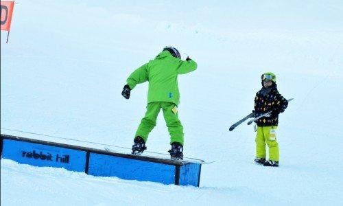 Freestyle Lesson, Snowboard, Terrain Park,