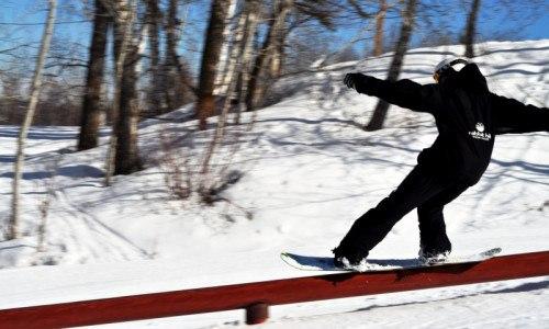 ski, snowboard, park, terrain park, temp park, rails, jumps, boxes