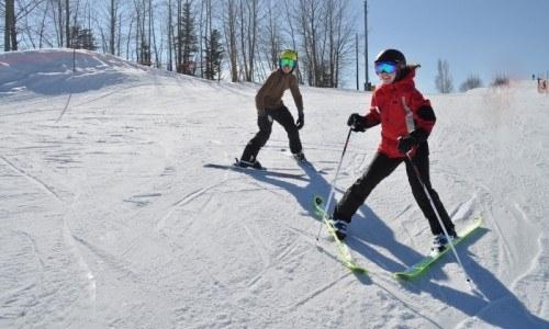 skiing, ski lessons, edmonton ski, edmonton, winter fun, embrace winter