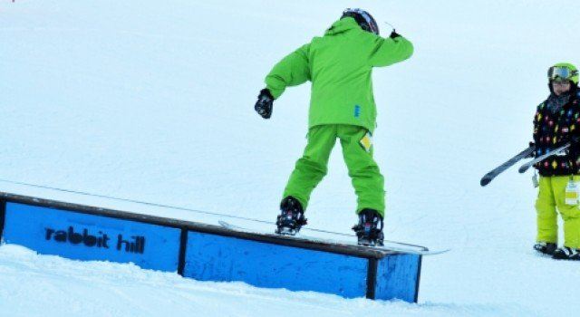 ski, snowboard, rablab, terrain park, freestyle, lesson
