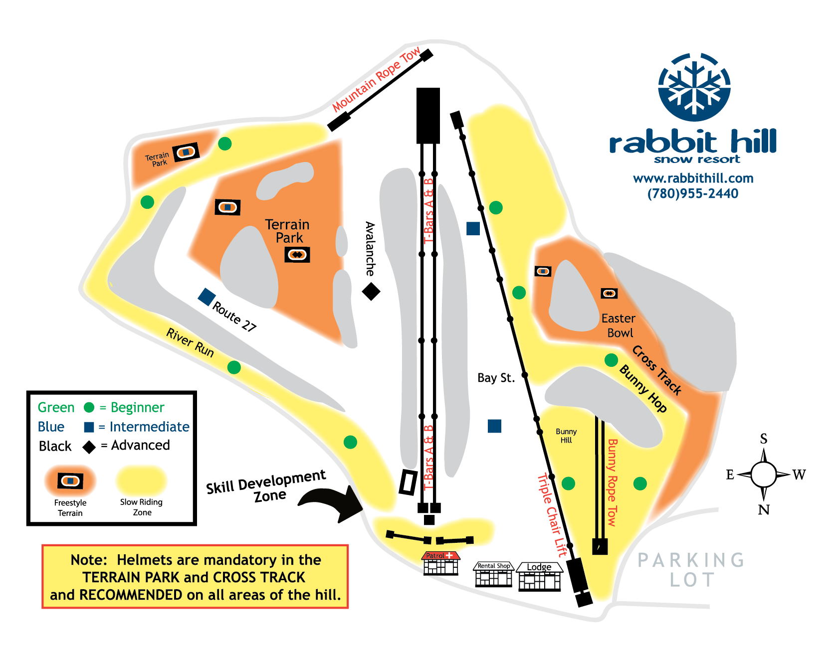 Rabbit Hill Trail Map