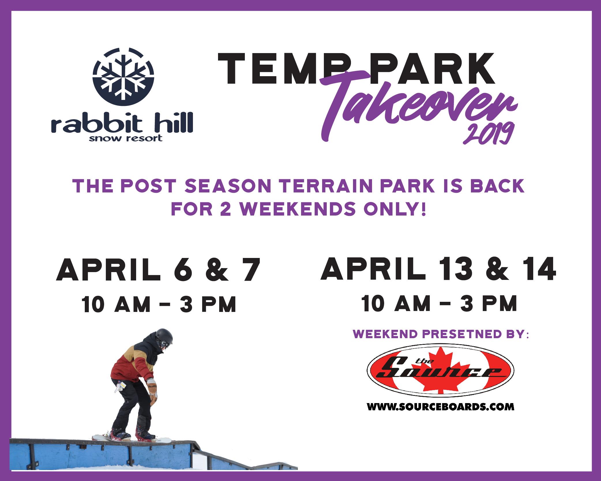 Temp Park Takeover